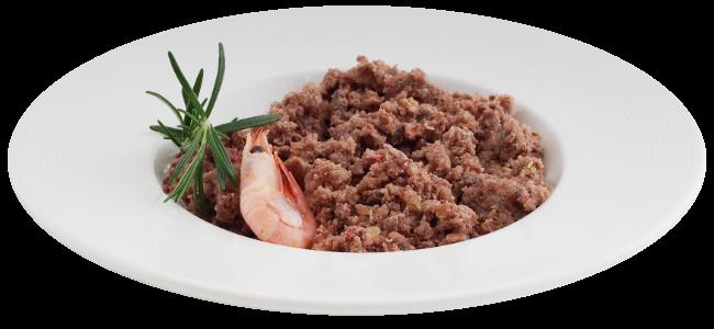 Beef Tuna Shrimps